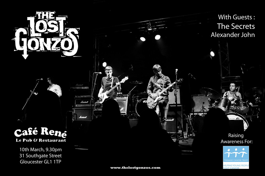 Lost Gonzos - Rene Flyer