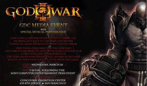 God of War meetup event