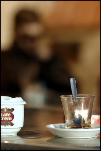 Tunnelma kuva kahvilasta