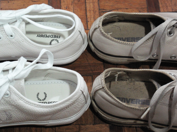 Fred Perry vs Converse sneaks 04