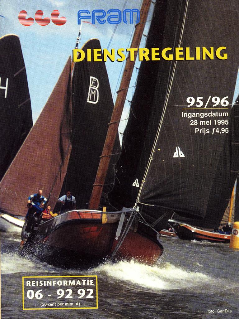 FRAM Dienstregeling 1995