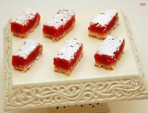 raspberry bars