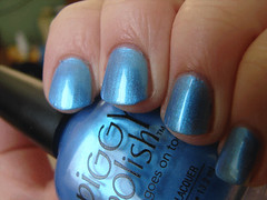 Piggy Polish Blue-ty Call (PuckLizardRN) Tags: blue nailpolish shimmer duochrome piggypolish bluetycall