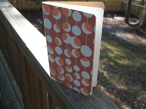 Fabric Covered Moleskine