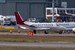 G-JBLZ - 550-1018 - Private - Cessna 550B Citation Bravo - Luton - 100308 - Steven Gray - IMG_7895