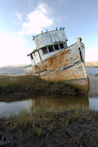 Pt. Reyes Shipwreck, Inverness, CA