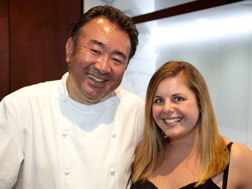 Christie and Tetsuya Wakuda