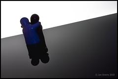 fighting or loving? (Jon Downs) Tags: blue white black macro art closeup loving digital canon downs pepper eos photo jon flickr artist image salt picture pic photograph 7d fighting jondowns
