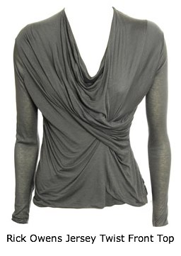Rick Owens Twist Front Top