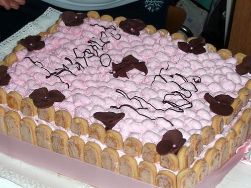 torta compleanno rosa