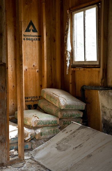 an abandoned ranch in the Methow