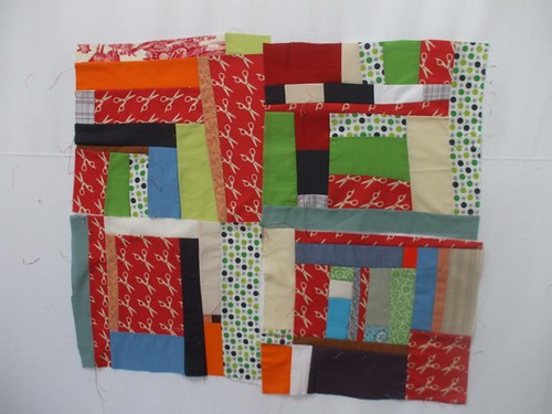 four blocks together from the Denyse Schmidt class