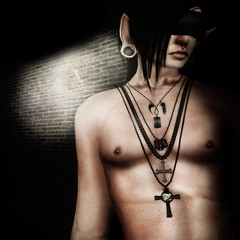 Mercenary ( Nobody You Know ) Tags: men necklace chains cross buried cords military chain claw mens demon bullet crow razor razors savior necklaces hod mercenary dogtag vigilante aitui hausofdarcy