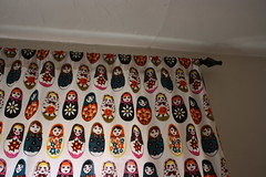 Living Room Curtain, right closed