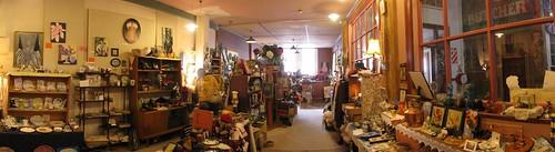 Dinky trinket shop in Old Town Oamaru, New Zealand