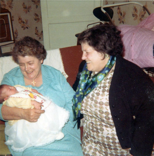 Joanie Martin and her Great Aunties 1970