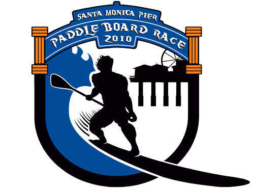 Santa Monica Pier Paddle Board Race