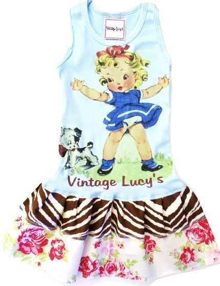 DRESS_VINTAGE_CHIC_FLORAL_PUPPY