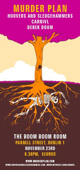 Murder Plan murder tree poster