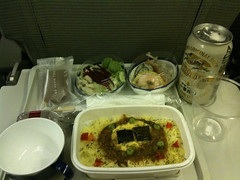 Japan Airlines Dinner