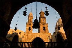 Islamic Cairo (ania.egypt) Tags: travel light shadow holiday contrast nikon place minaret islam egypt cairo destination inside lamps kontrast cie wakacje egipt d300 moque madrasa wntrze podr kair meczet