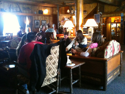 Tamarack Lodge for boozy cider and boardgames.