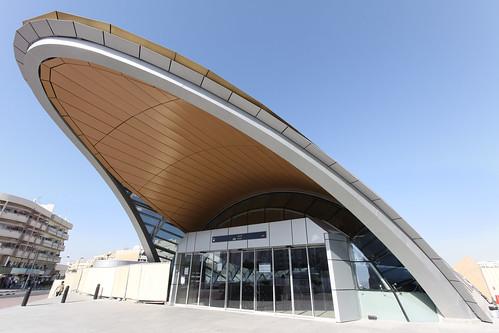 Dubai Metro Union Square Entrance