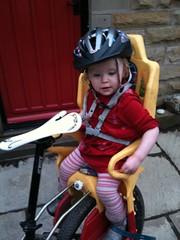 Elsie saddled up