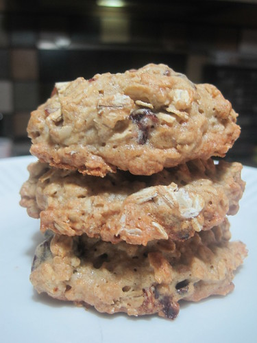 Oat-Cranberry Cookies