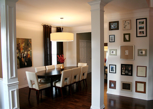 dining room in brentwood tennessee by cke interior design