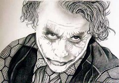 Heath Ledger as The Joker charcoal pencil portrait (Portrait from a photo) Tags: portrait blackandwhite celebrity art pencil portraits star artwork artist drawing pastel films australian drawings gift charcoal batman present movies commission graphite birthdaypresent christmaspresent realistic weddingpresent filmstar commissioned heathledger thejoker brokebackmountain thedarkknight anniversarypresent portraitfromaphoto commissionaportrait christeningpresent portaritartist