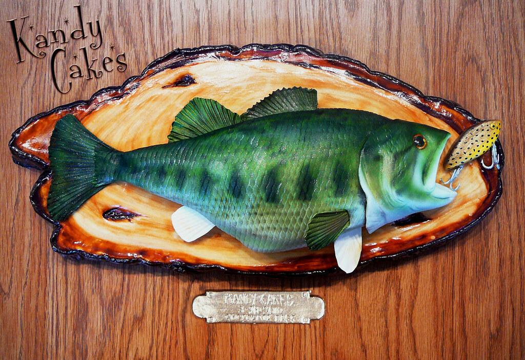 Bass Fish Shaped Cake Pan