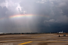 Welcome back home (xnir) Tags: photography israel al airport rainbow photographer ben aviation el international boeing runway 737 tlv nir elal  gurion benyosef llbg xnir  photoxnirgmailcom