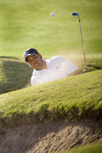Trent Golfing2