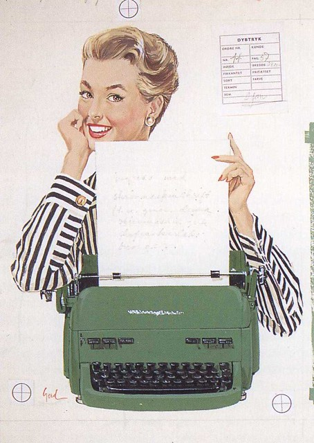 I love my new typewriter