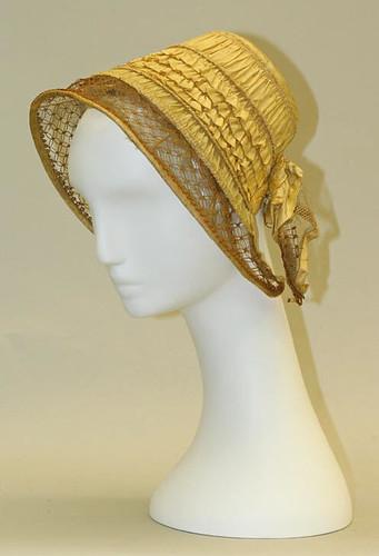 Bonnet, 1840-1850