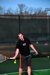 DSC_0303_e (setao86) Tags: college sports sport court athletic teams team athletics university nick highlander tennis racket tenniscourt radforduniversity