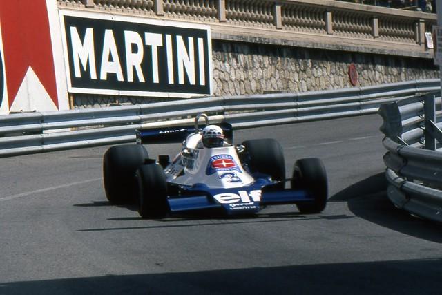 1978 GP Monaco - Didier Pironi - Elf Tyrrell 008