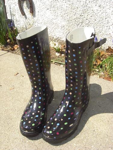 New Rain Boots.