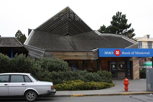 Bank branch, James Bay, Victoria, BC