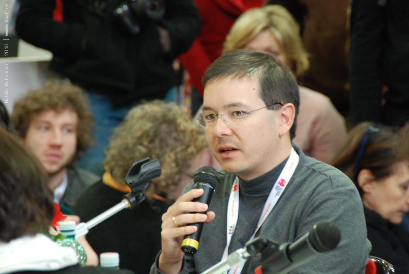 Shaun Tan, the interview in Bologna, Italy