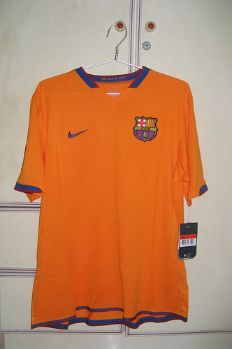 Barcelona 2006-2007 Away S/S