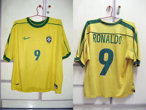 Brazil 1999-2000 Home S/S (RONALDO)