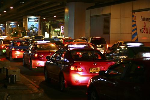 bangkok embouteillages