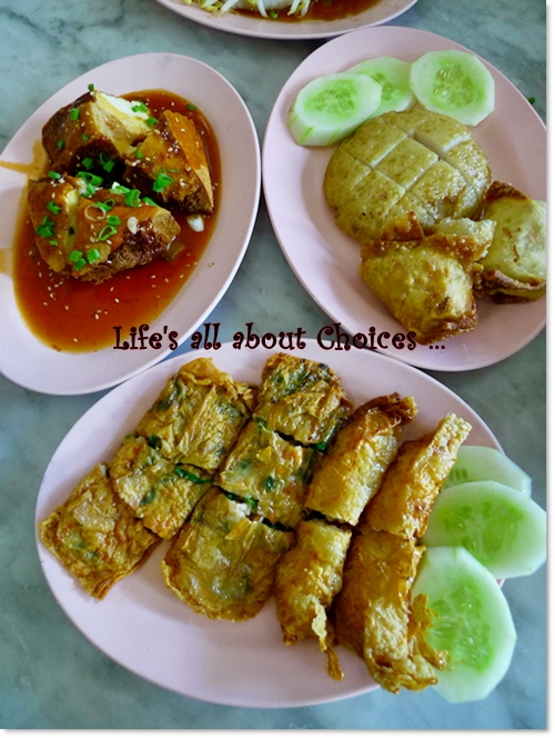 Various Stuffed Fish Paste @ Nam Fatt