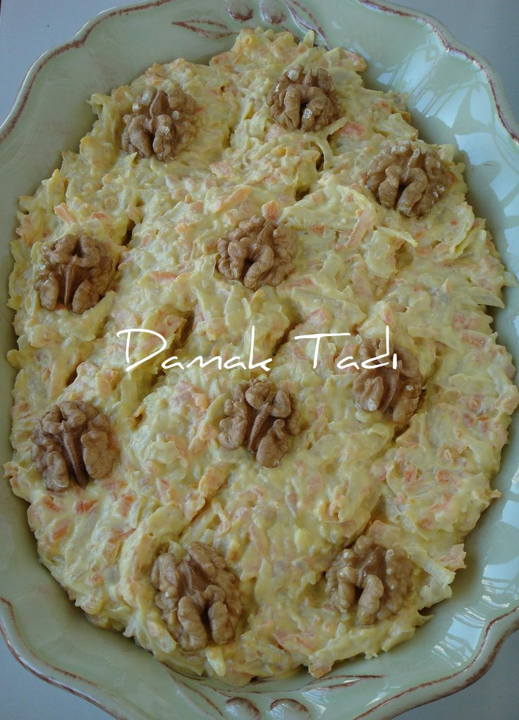Havuçlu Kereviz Salatası