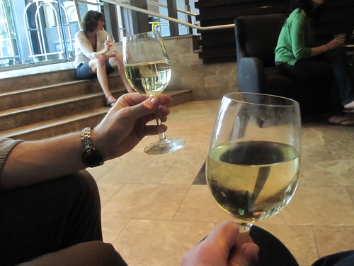 Wine time at the hotel - free