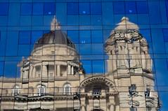 Port of Liverpool Building (Chris Bertram) Tags: england reflection liverpool nikon unitedkingdom pierhead merseyside d90