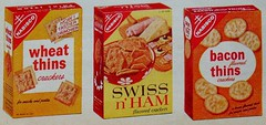 1950s NABISCO Crackers Wheat Thins SWISS N HAM Bacon Thins Vintage Advertisement (Christian Montone) Tags: old food vintage magazine ads advertising graphics commercial 1950s advert clippings crackers midcentury wheatthins nabisco vintageadvertisements vintagegraphics baconthins swissnham
