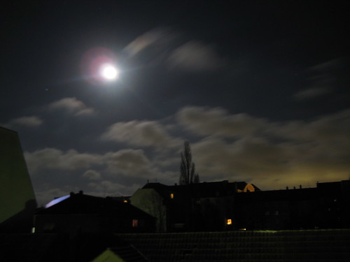 Mond über Kassel